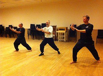 mens Tai Chi class Temple Knights