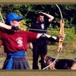 Kung Fu Camp archery muskoka