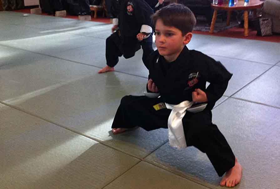 Kung fu kids class muskoka