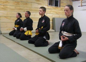 meditation kung fu class